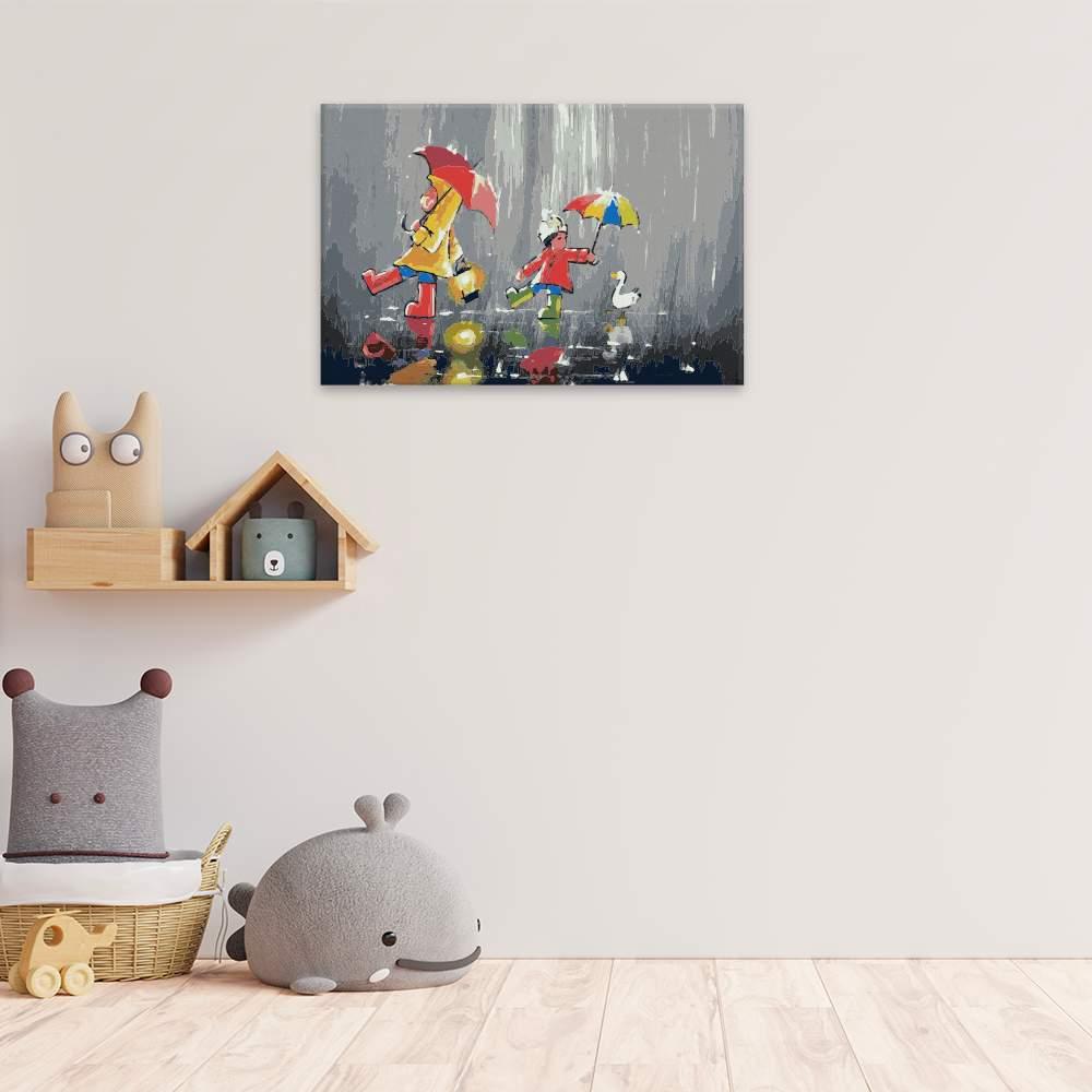Obraz na zdi Někdo s husou