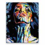 Malování podle čísel Abstrakní žena