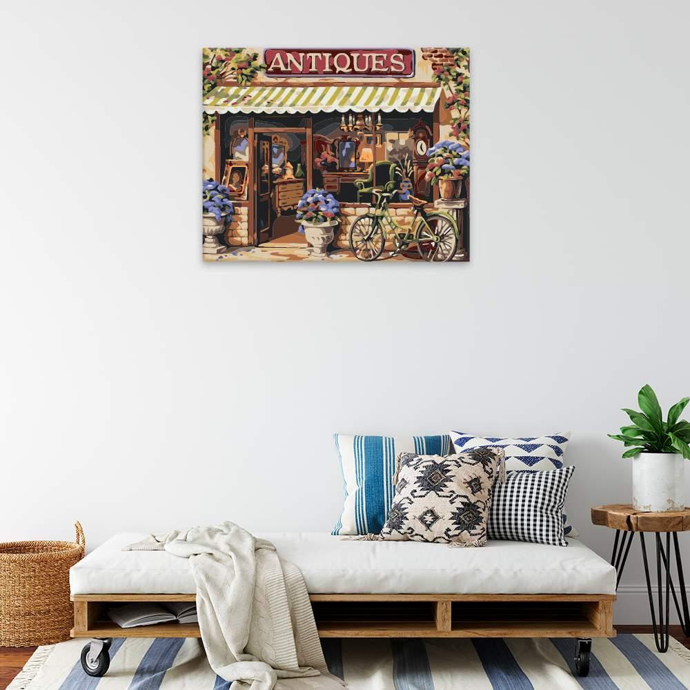 Obraz na zdi Antiquariát