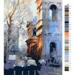 Malování podle čísel Město