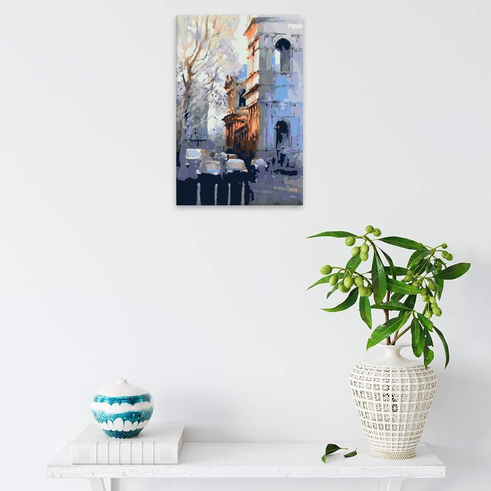 Obraz na zdi Město