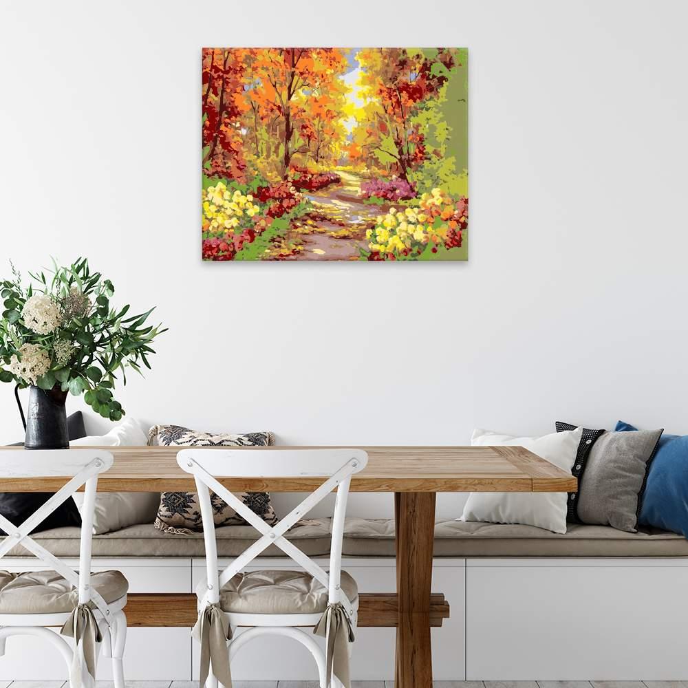 Obraz na zdi Podzimní park