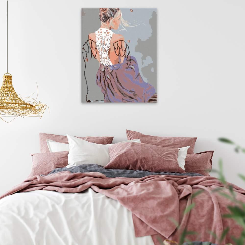 Obraz na zdi Dívka s křídly