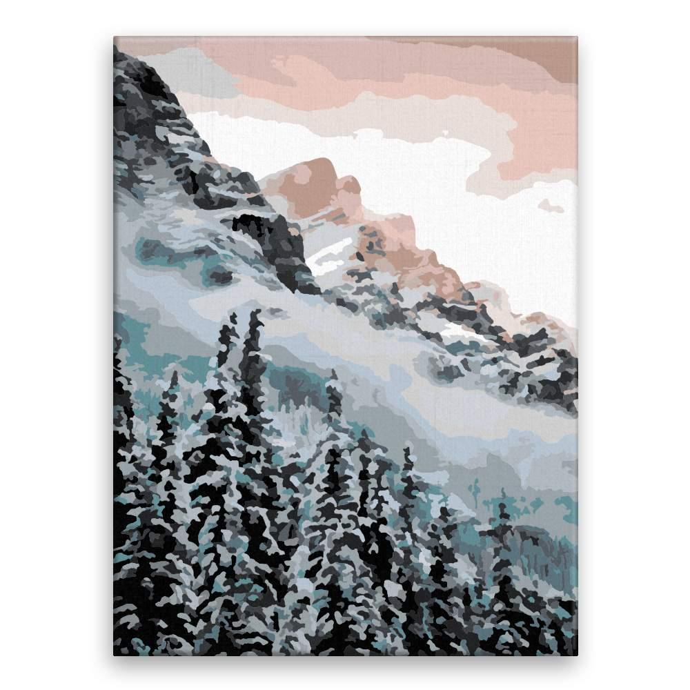 Malování podle čísel Horská příroda