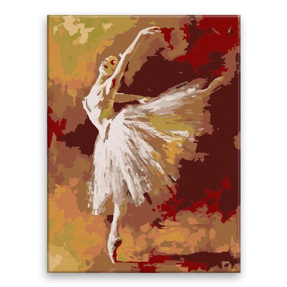Malování podle čísel Baletka