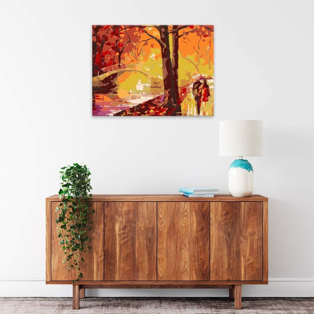 Malování podle čísel Podzimní snění