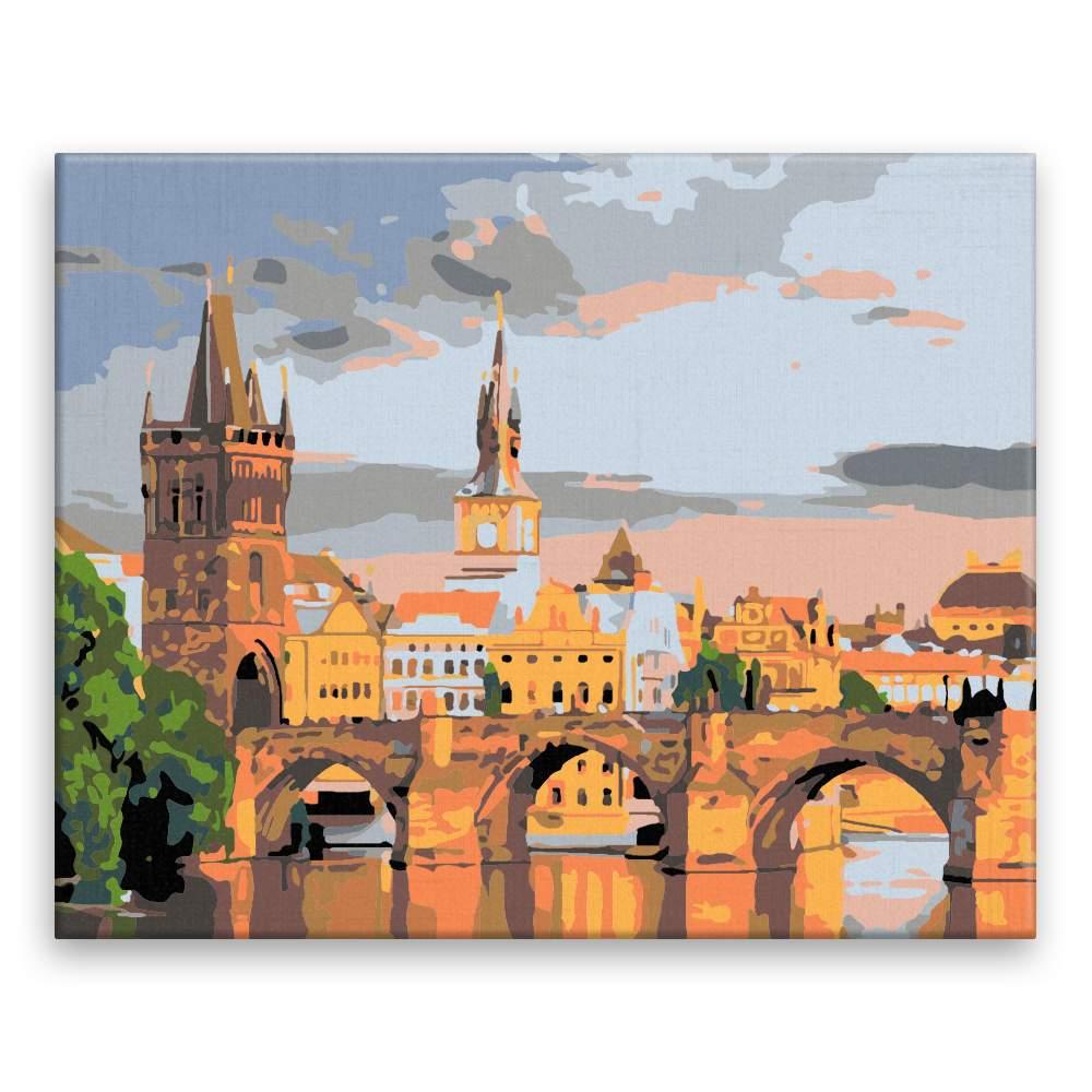 Malování podle čísel Karluv most