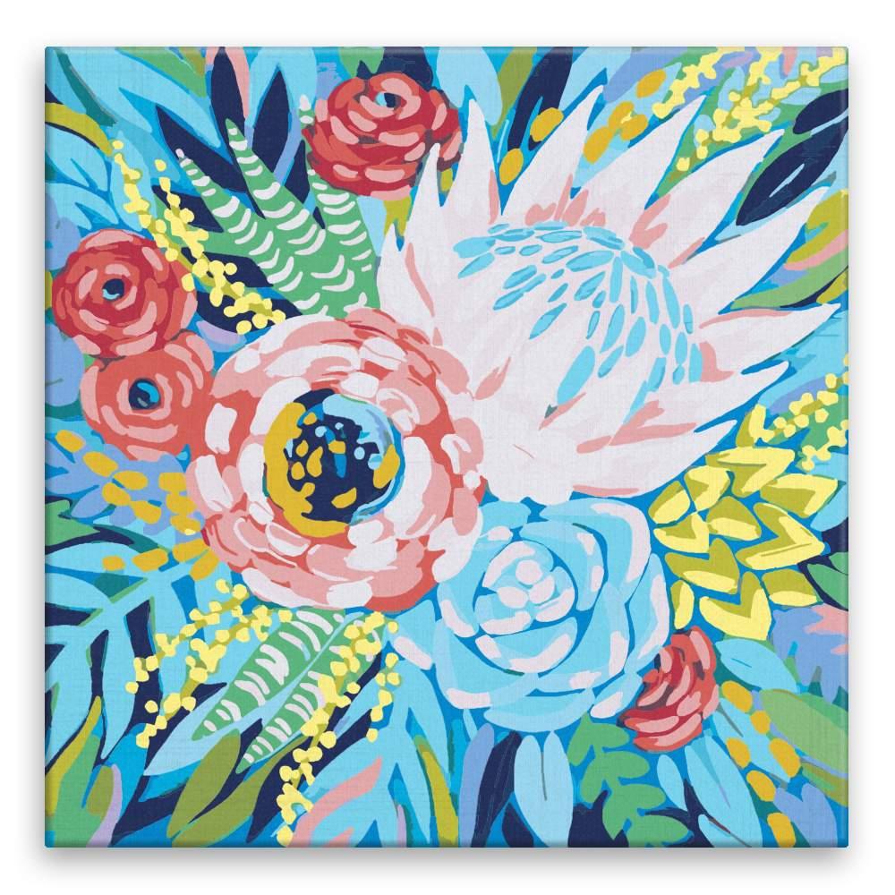 Malování podle čísel Krásný pugét