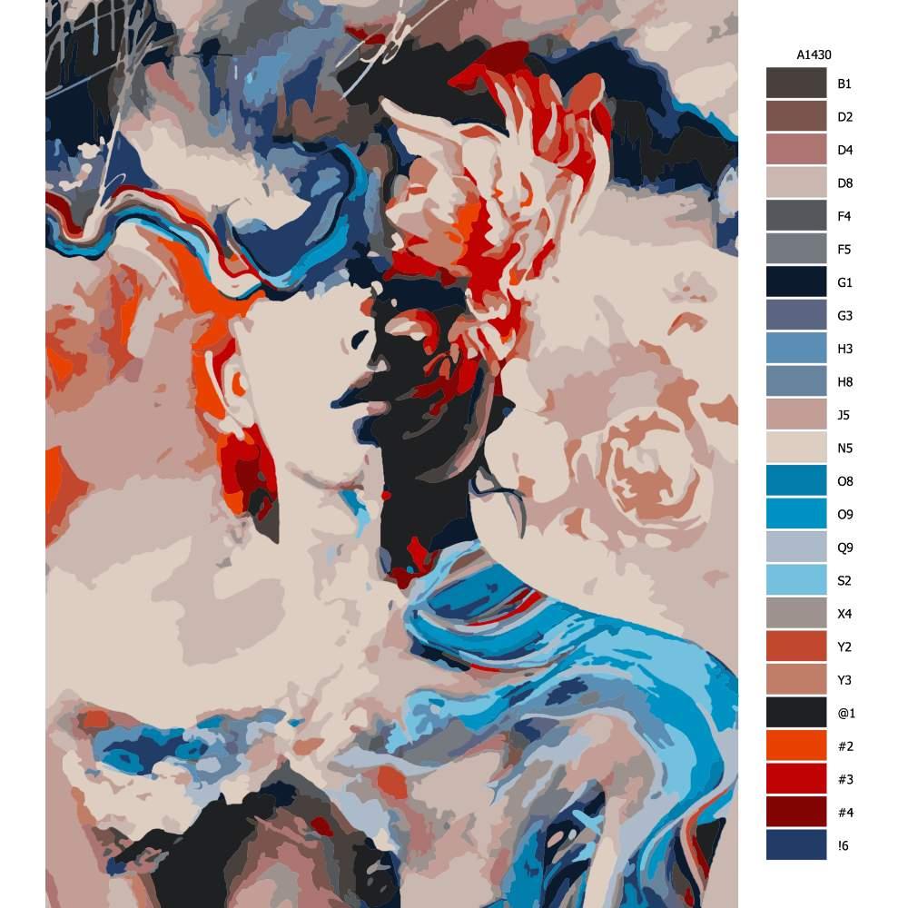 Malování podle čísel Zaslepení