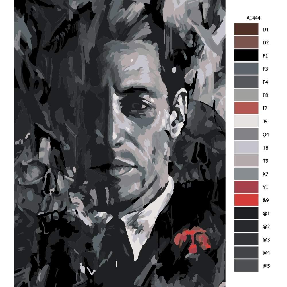 Návod pro malování podle čísel Mafie
