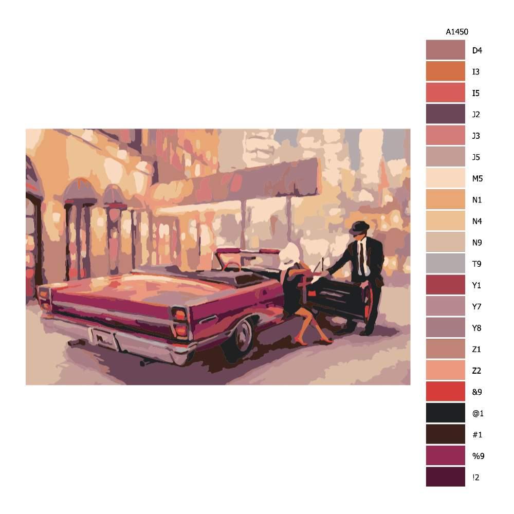 Návod pro malování podle čísel Getleman