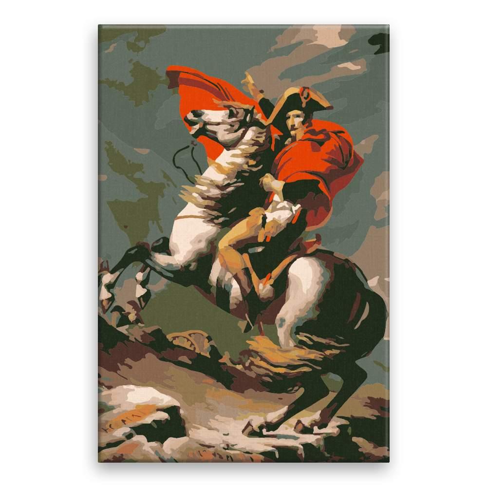 Malování podle čísel Napoleon v boji