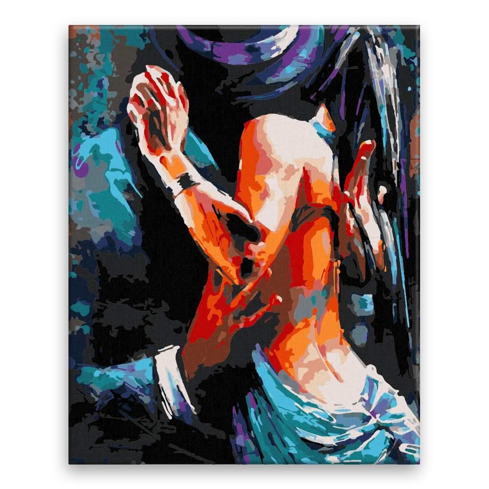 Malování podle čísel Touha
