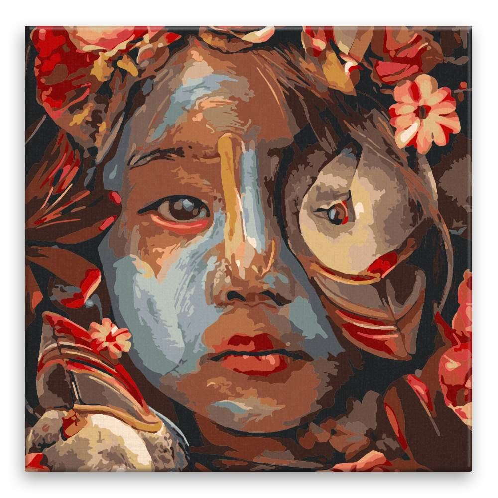 Malování podle čísel Tajemné dítě