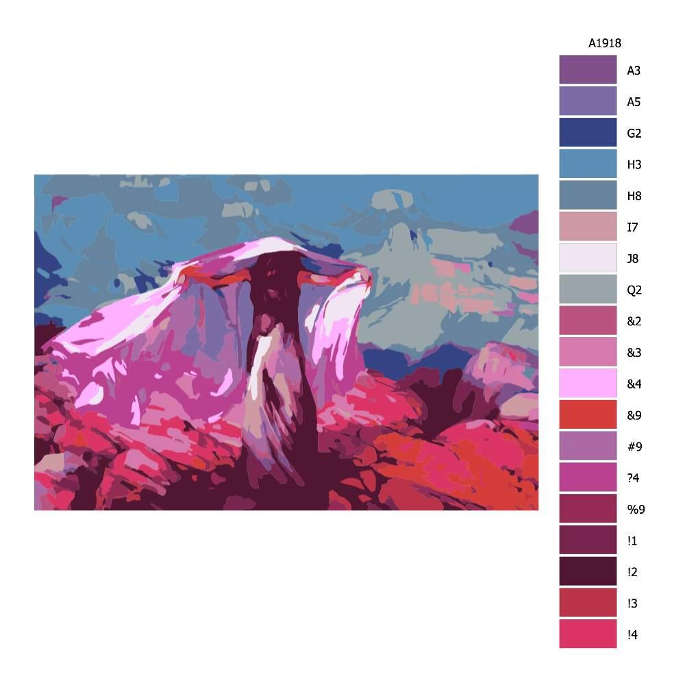 Malování podle čísel Tančící při žáru měsíce