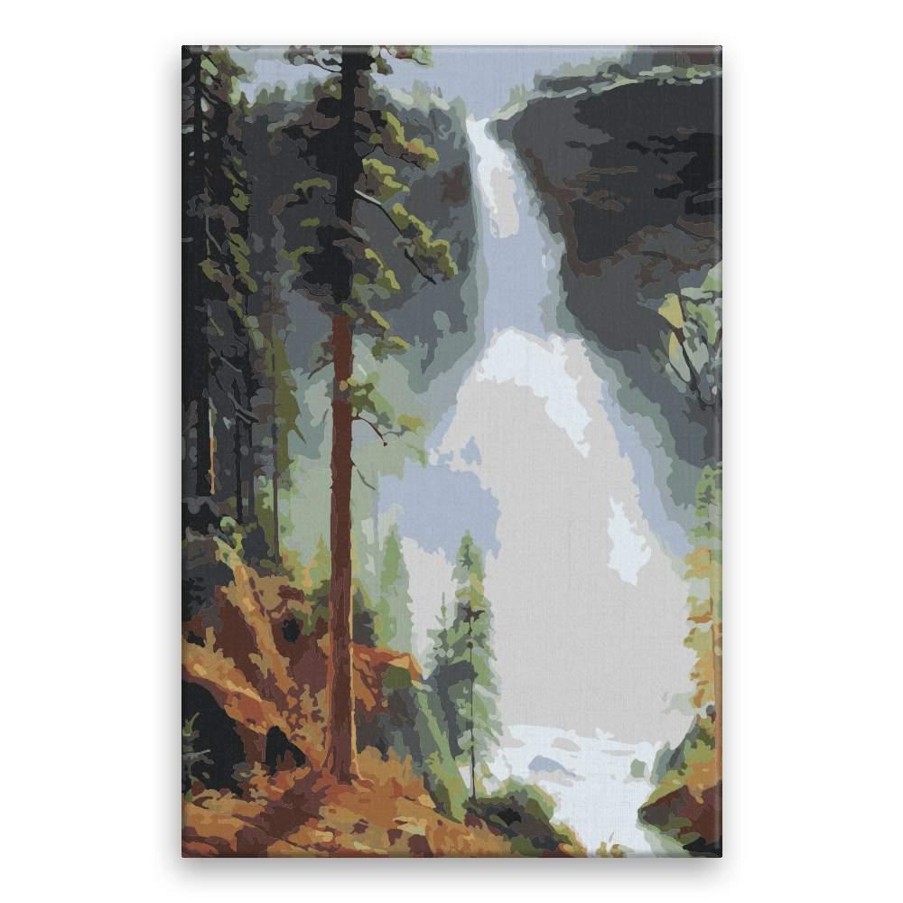 Malování podle čísel Vodopád