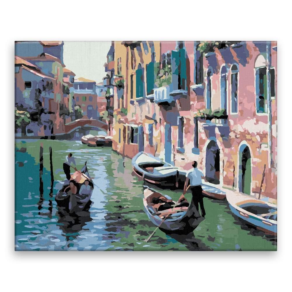 Malování podle čísel Benátky