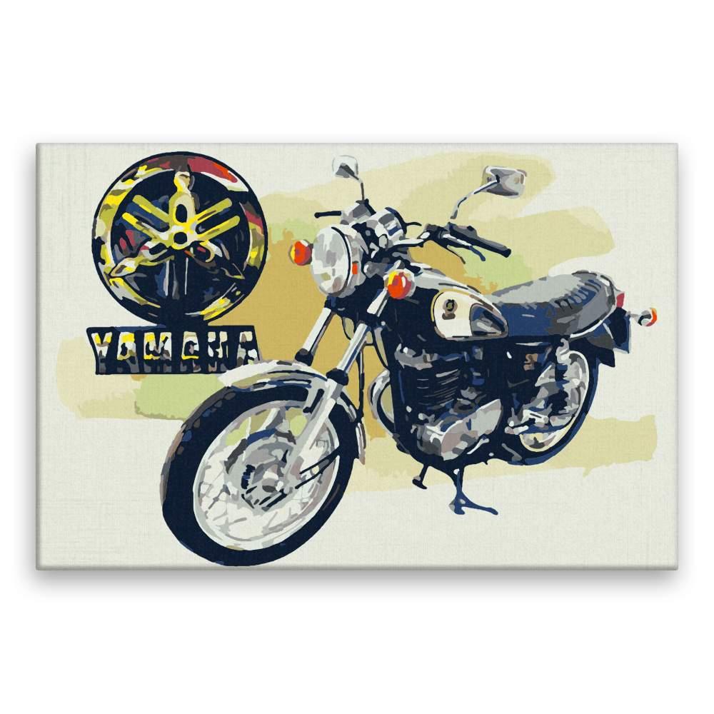 Malování podle čísel Yamaha