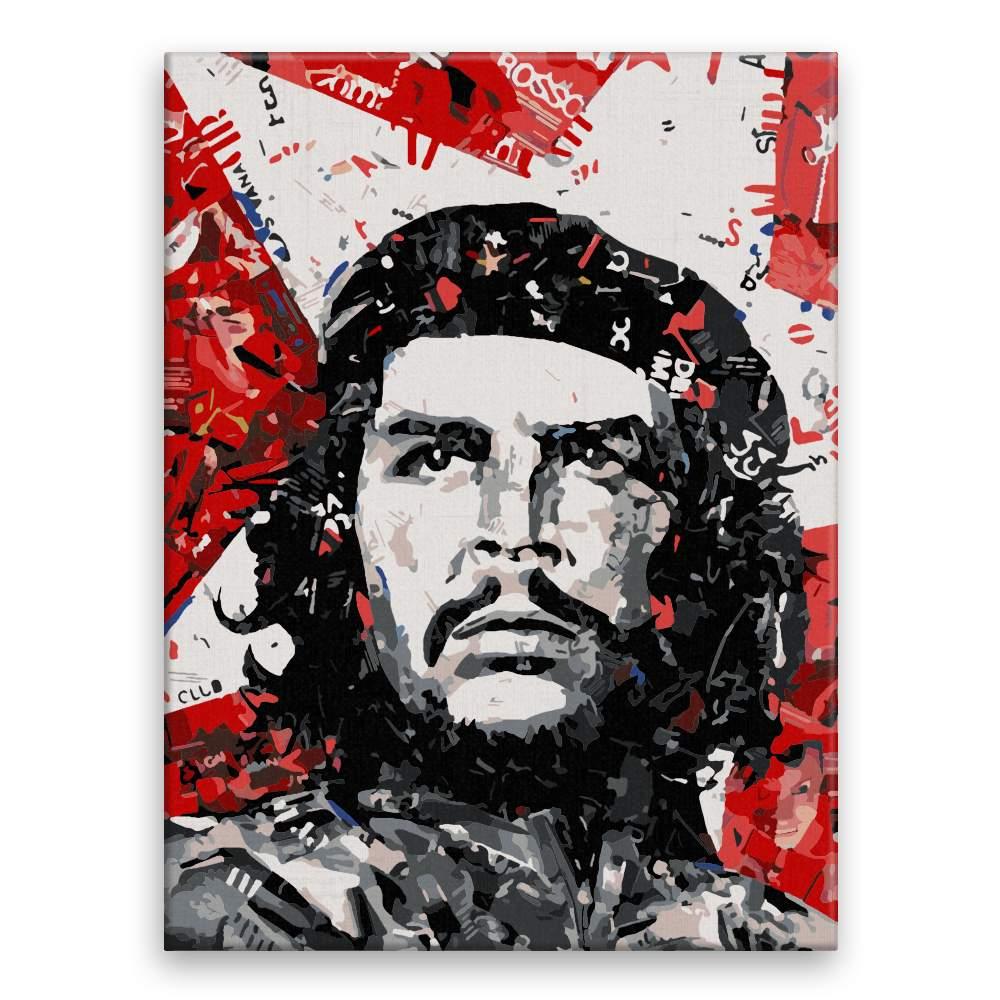Malování podle čísel Che Guevara 01