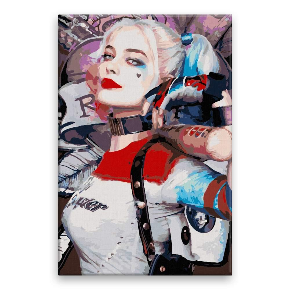 Malování podle čísel Harley Quinn 03