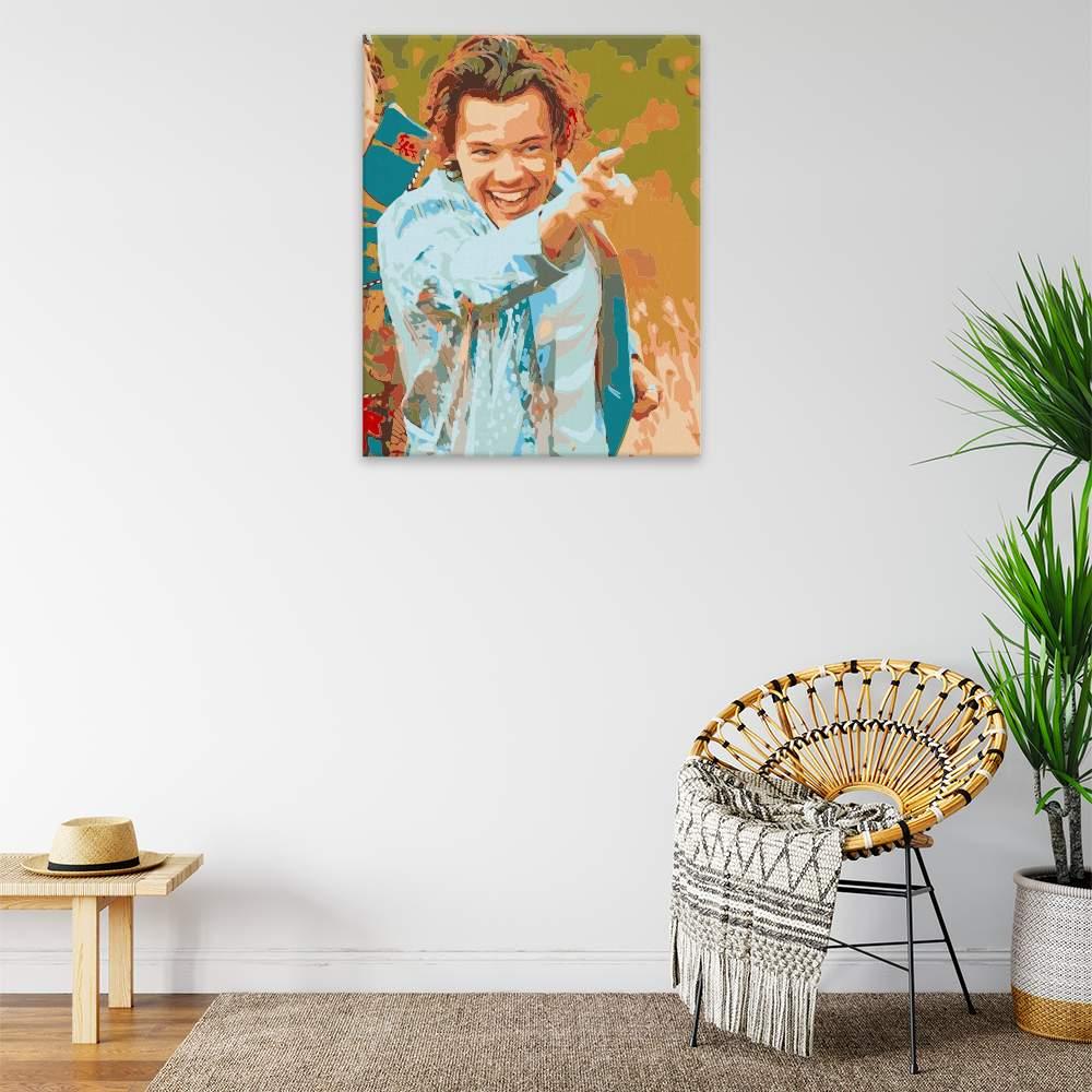 Malování podle čísel Harry Styles 03