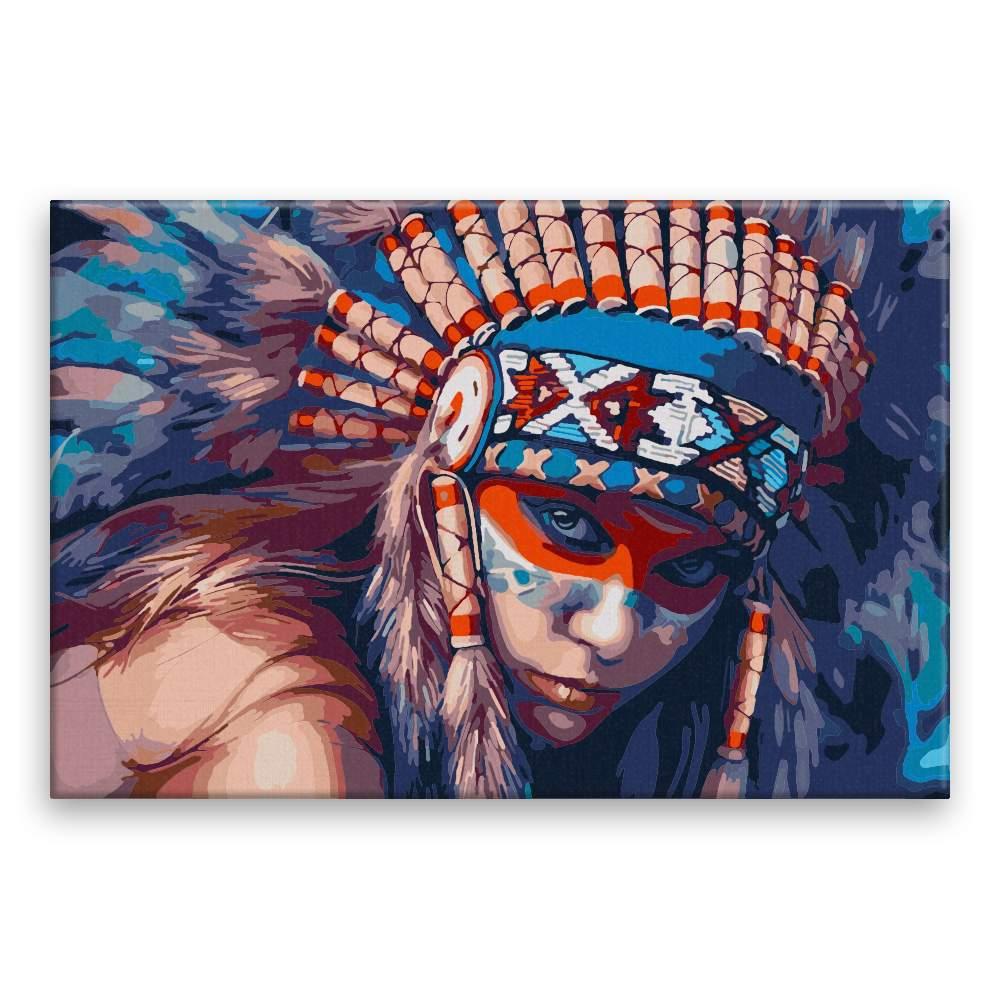 Malování podle čísel Indigenous Women 01