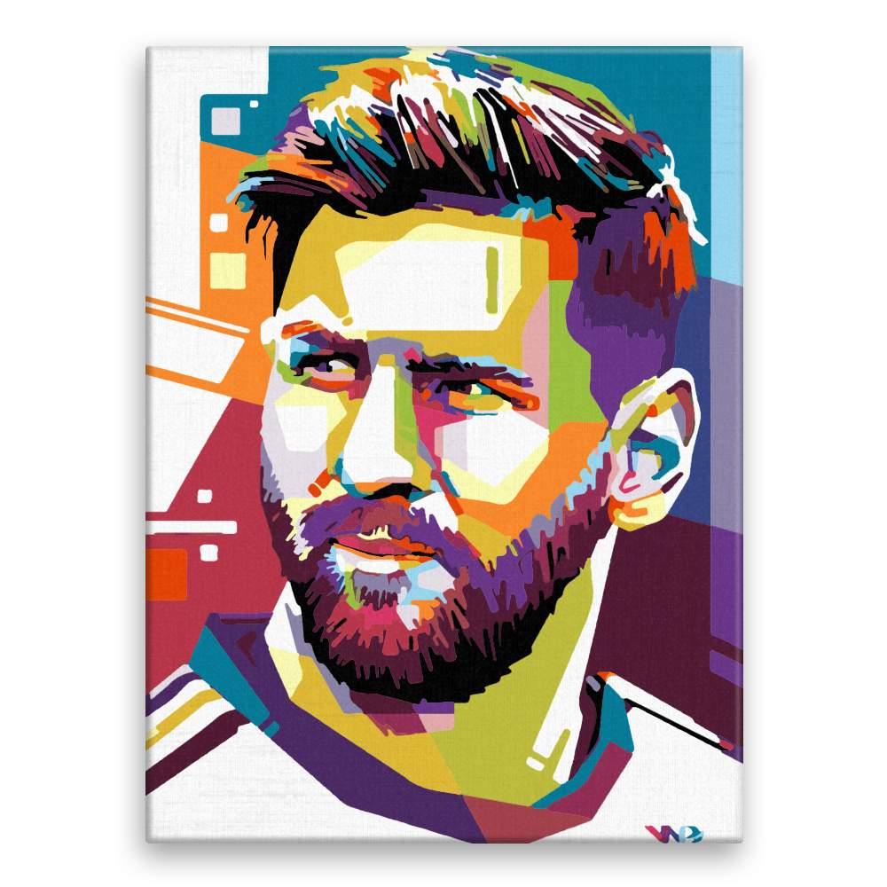 Malování podle čísel Messi 01