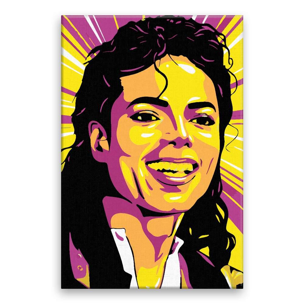 Malování podle čísel Michael Jackson 01
