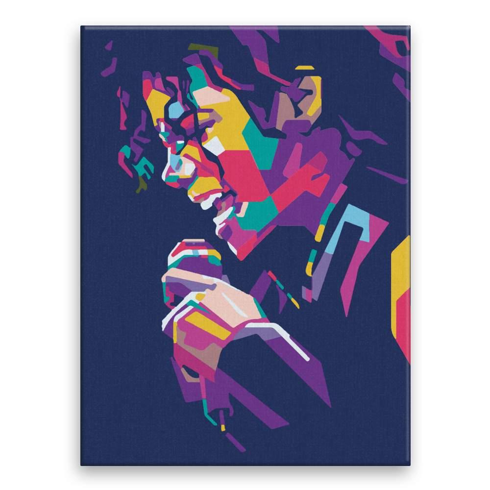 Malování podle čísel Michael Jackson 03