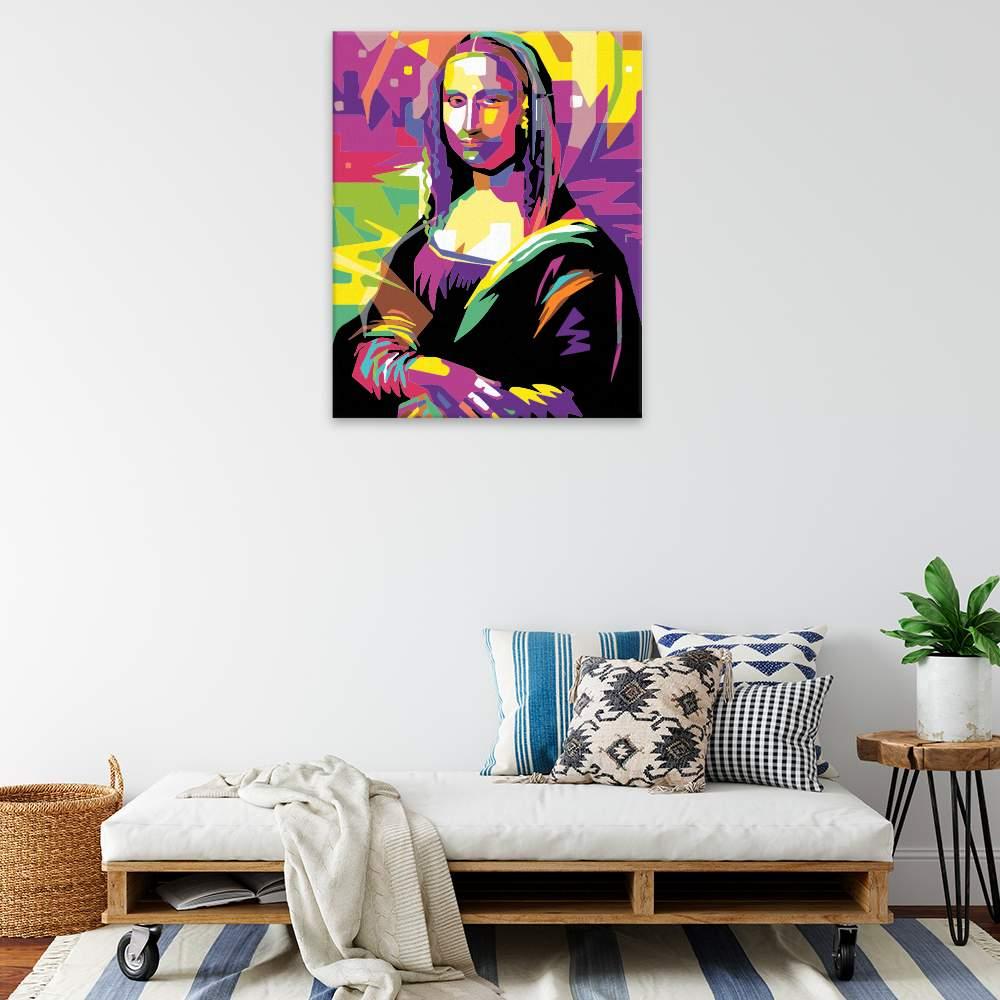 Malování podle čísel Mona Lisa 02
