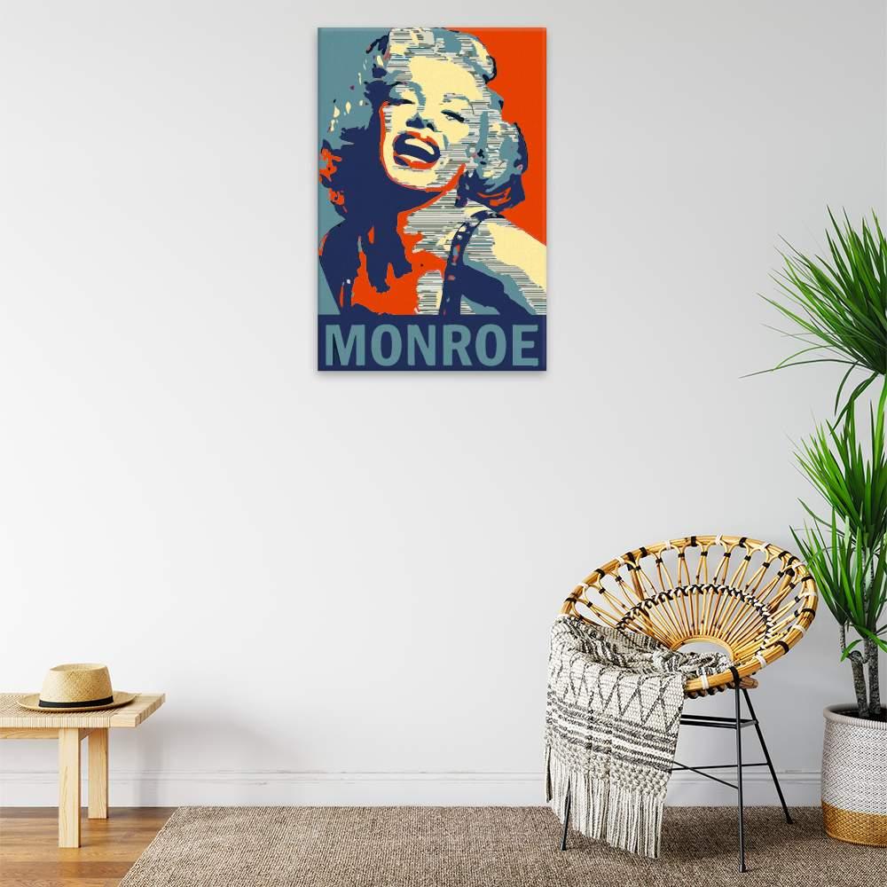 Malování podle čísel Marilyn Monroe 01