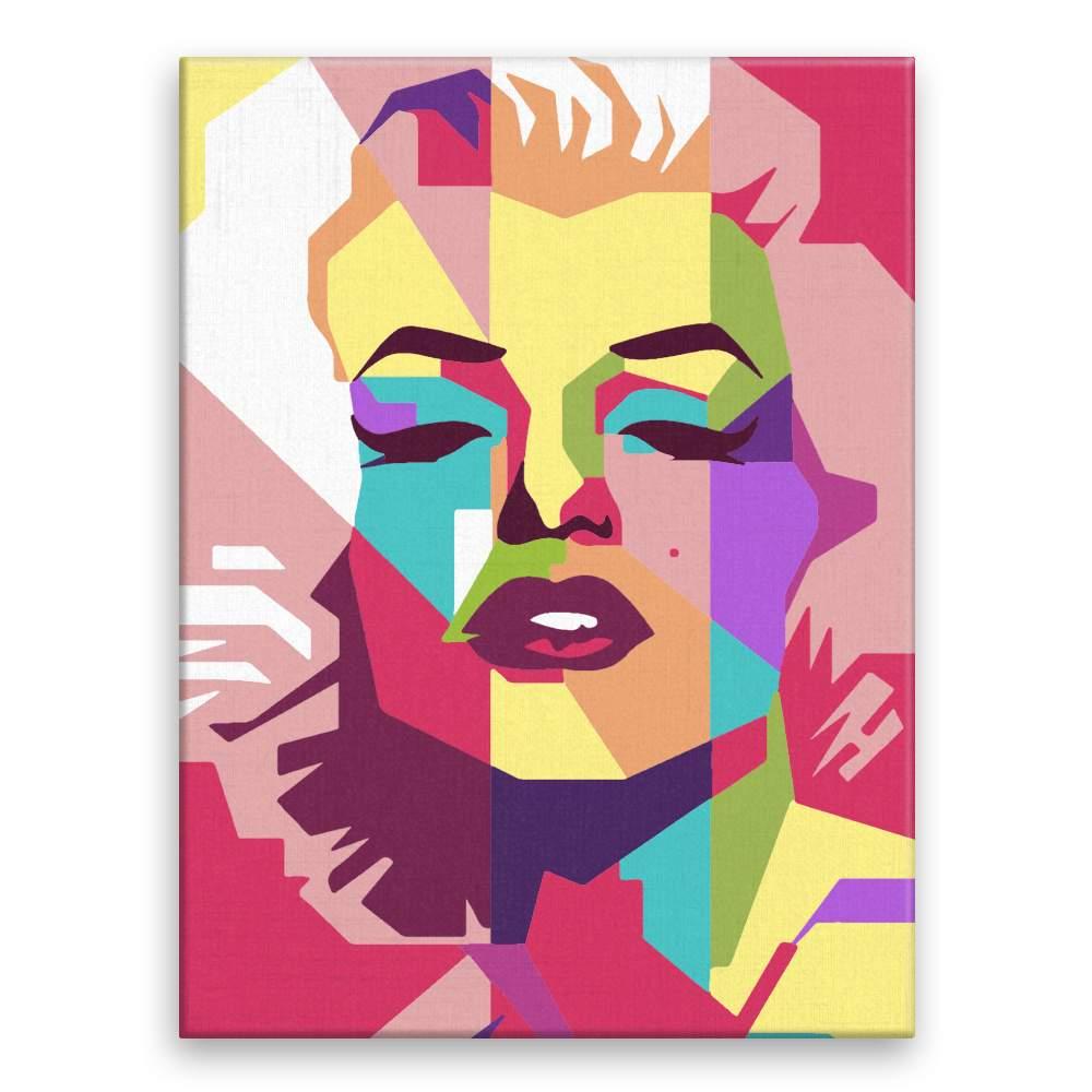 Malování podle čísel Marilyn Monroe 02