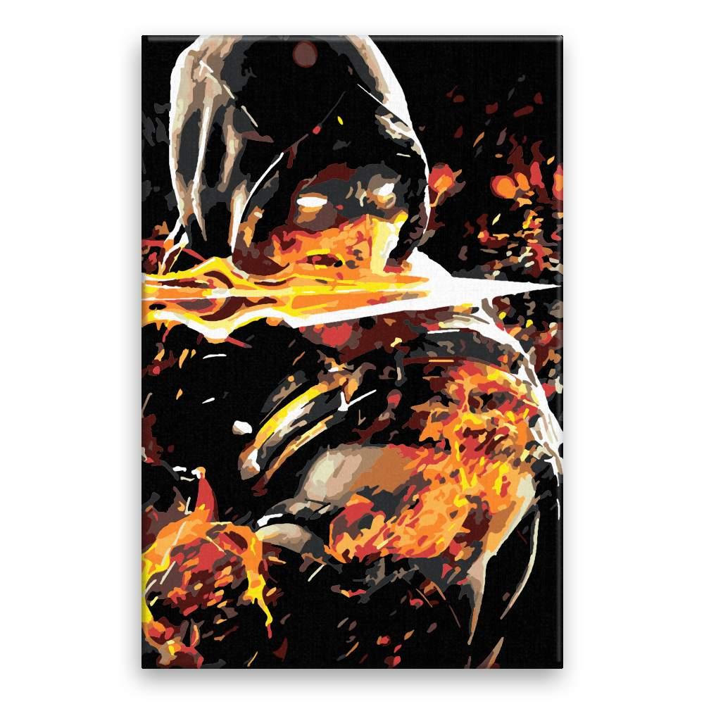 Malování podle čísel Mortal kombat