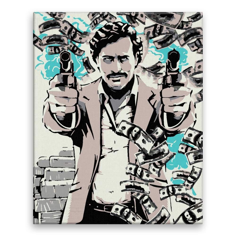 Malování podle čísel Pablo Escobar 01