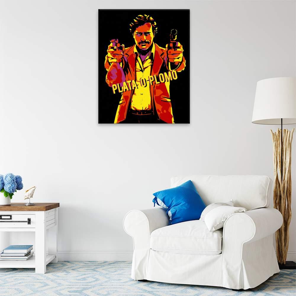 Malování podle čísel Pablo Escobar 02