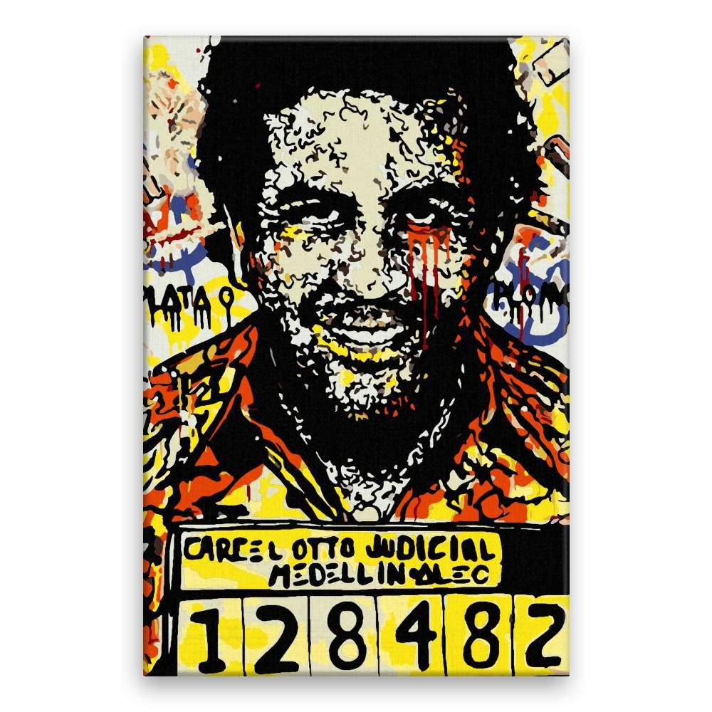 Malování podle čísel Pablo Escobar 03