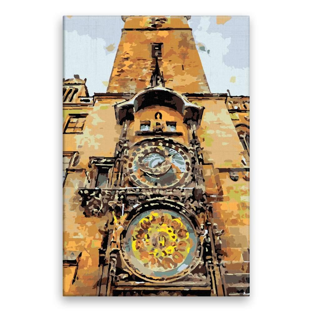 Malování podle čísel Pražský Orloj