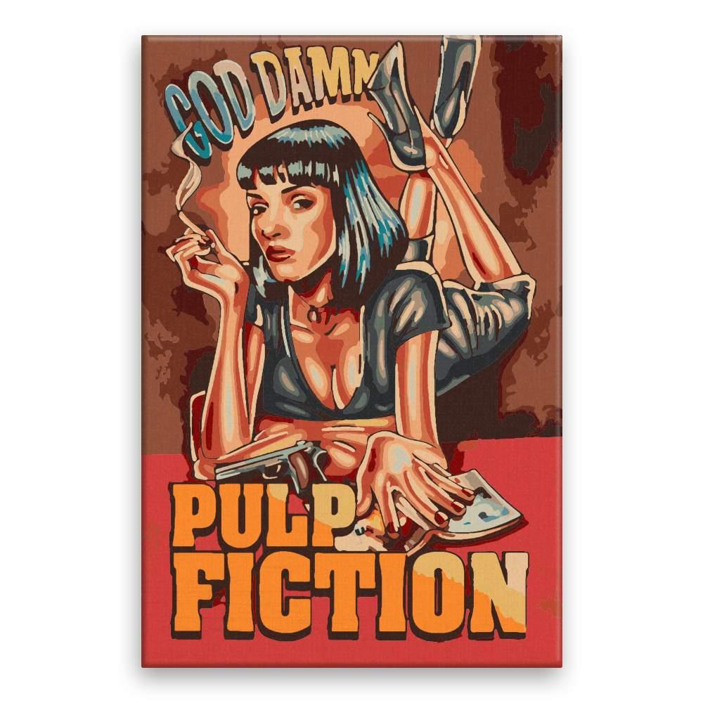Malování podle čísel Pulp Fiction 03