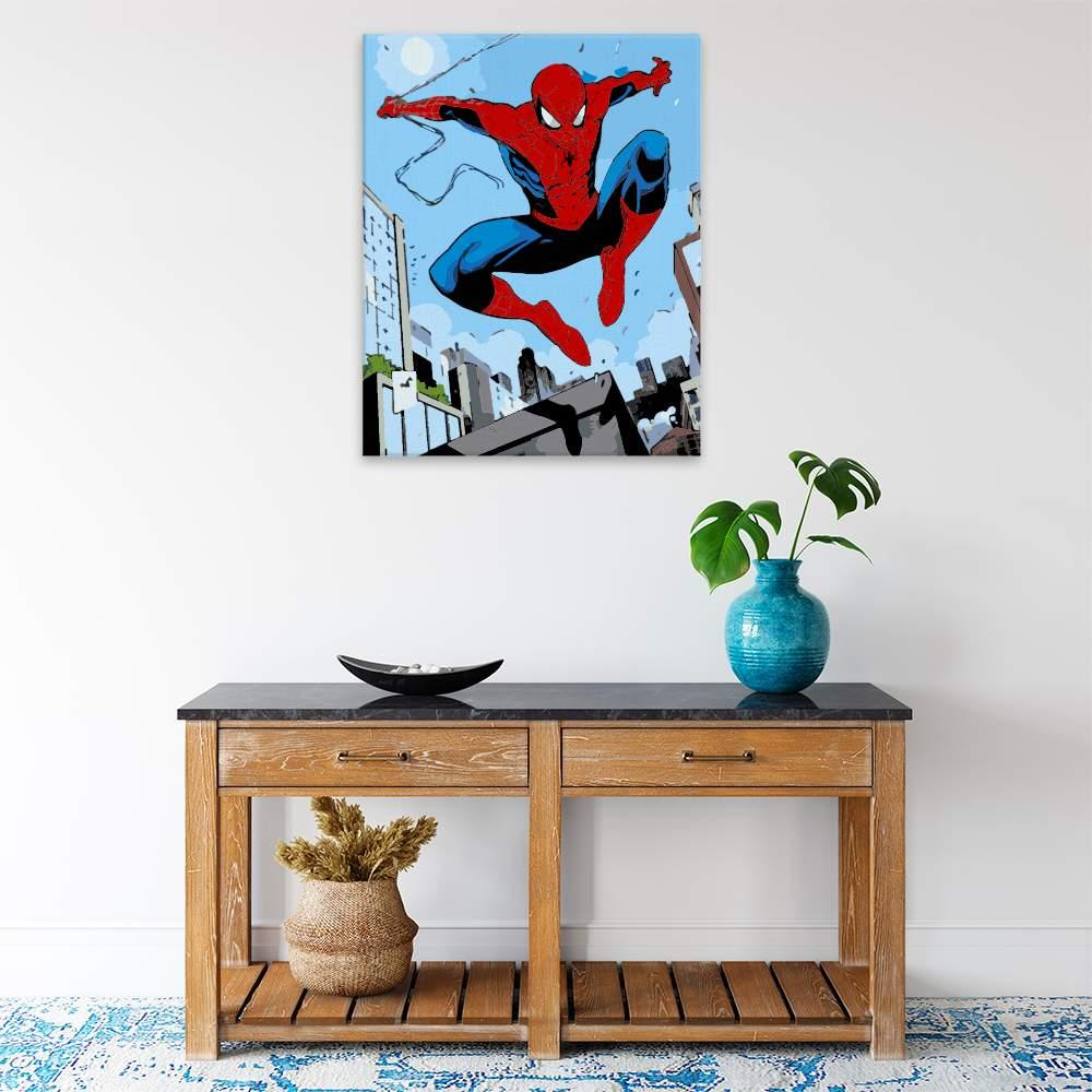 Malování podle čísel Spiderman 04