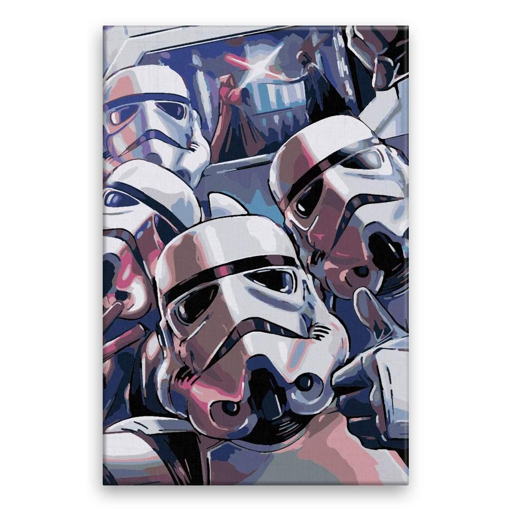 Malování podle čísel Star Wars 02