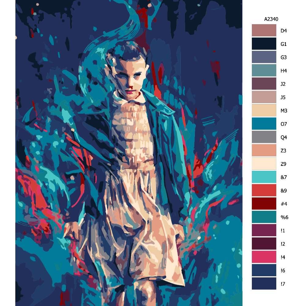 Malování podle čísel Stranger Things 01