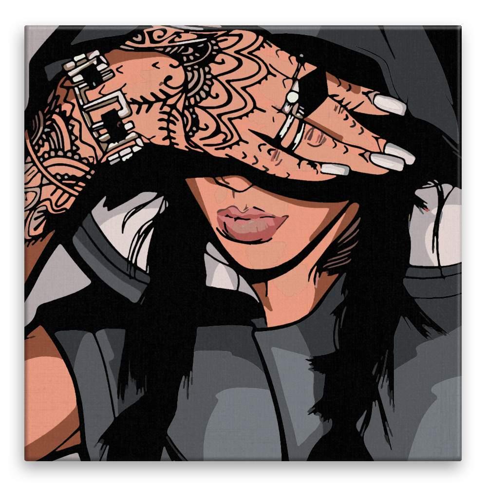 Malování podle čísel Tattoo 02