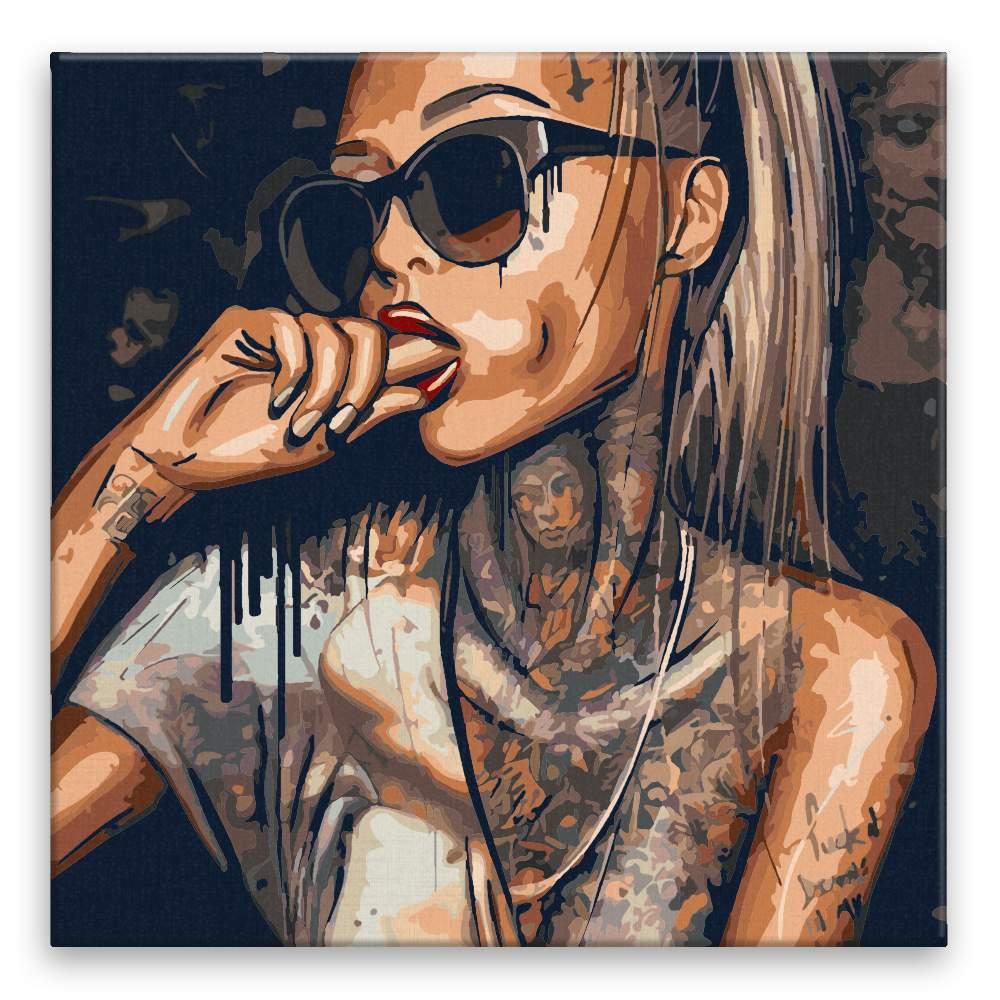 Malování podle čísel Tattoo 03