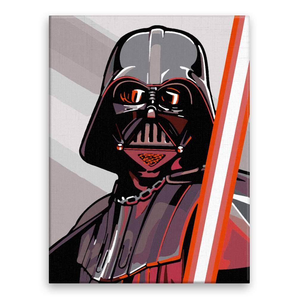 Malování podle čísel Vader