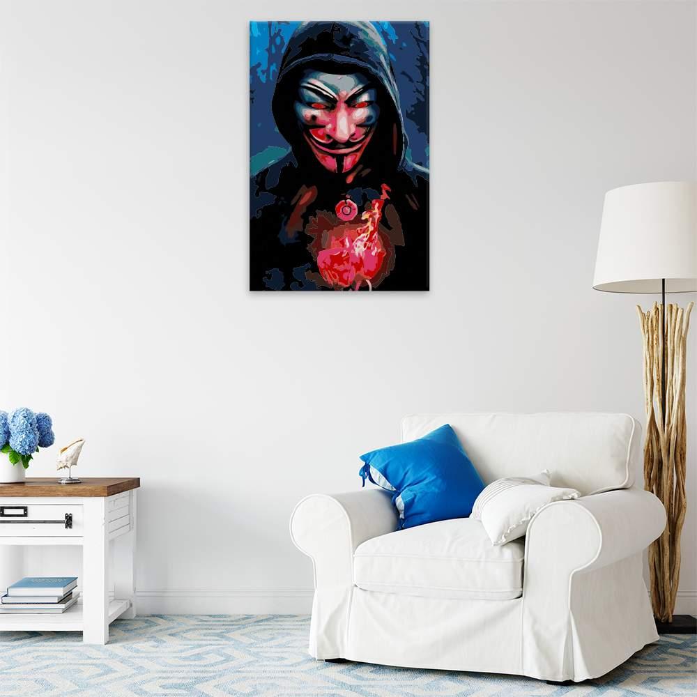 Malování podle čísel Vendeta 01