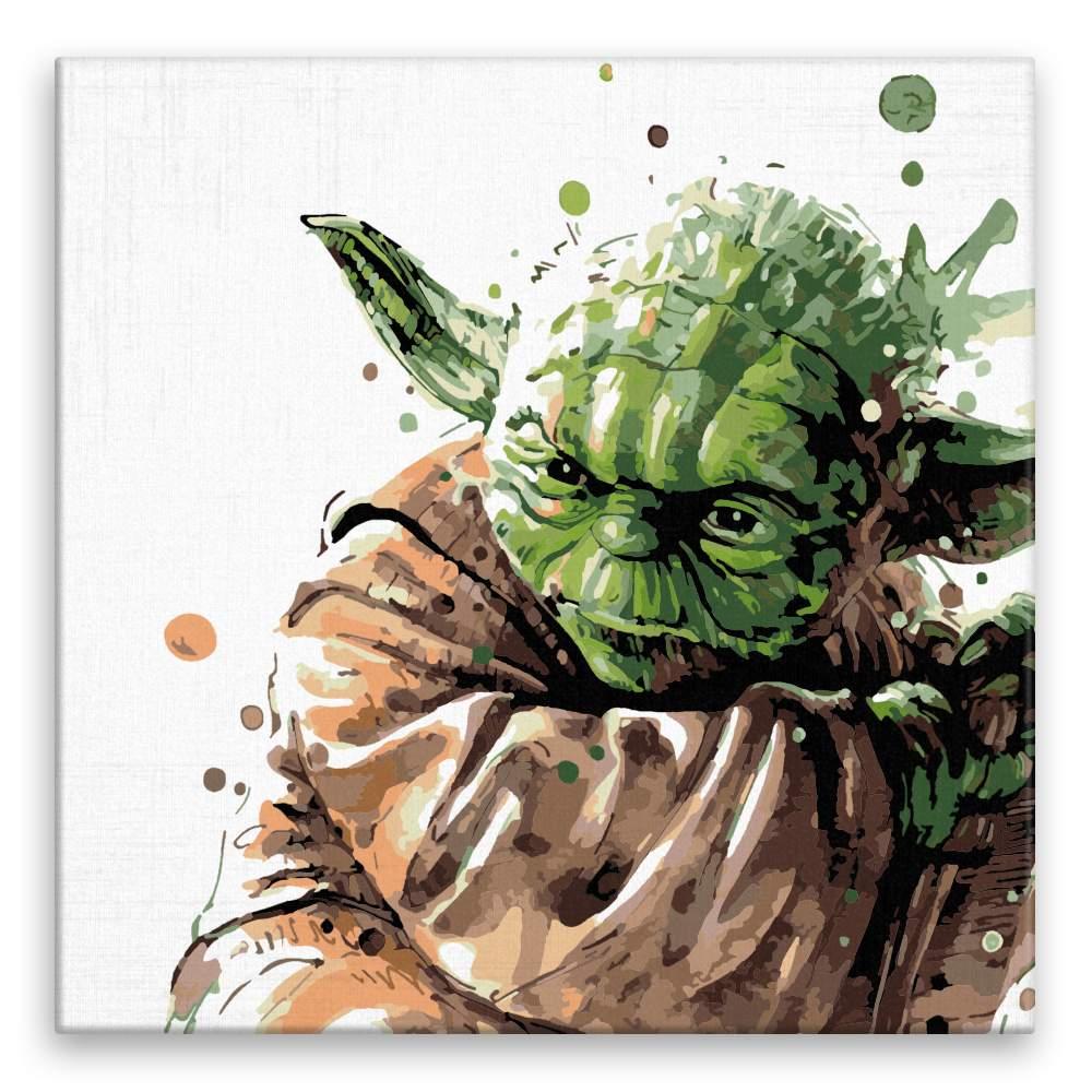 Malování podle čísel Yoda 02