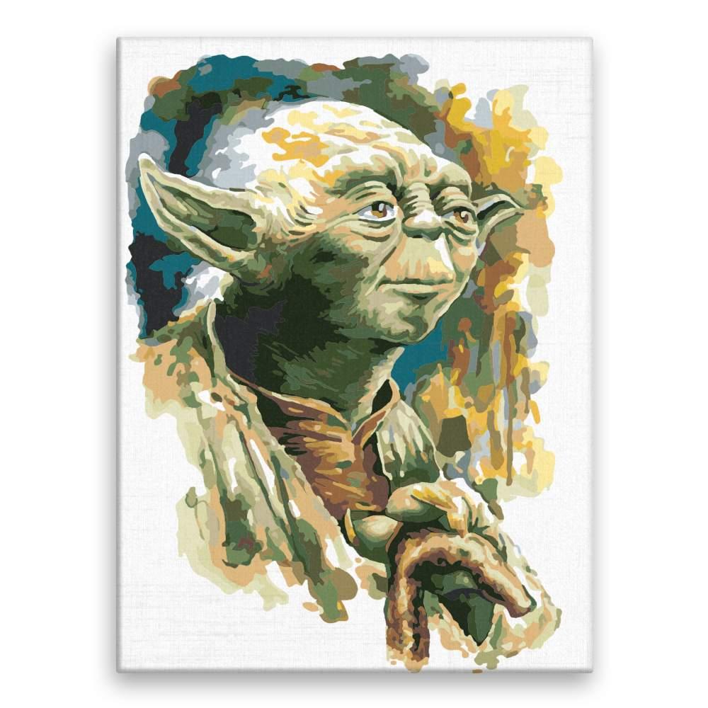 Malování podle čísel Yoda 03